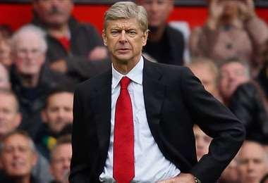 Wenger dejó hace dos años el banquillo del Arsenal. Foto: AFP