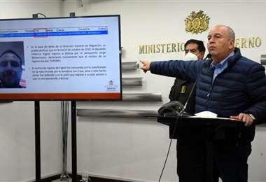 Arturo Murillo, ministro de Gobierno. Foto. APG