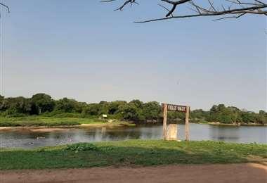 El caudal del río Paragua está cada vez más bajo