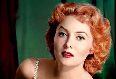 La actriz se hizo popular en la década de los años 40