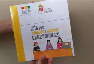 Jurados electorales recibieron capacitación