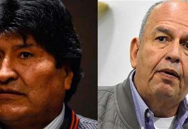 El ministro dijo que Morales tiene miedo de volver