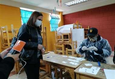 La canciller adelantó que mañana hay reunión de Gabinete para evaluar la jornada electoral