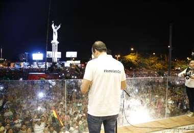 El partido de Camacho está en desacuerdo con la medida del Órgano Electoral