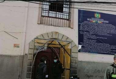 El recinto penitenciario paceño I redes.