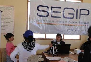 En Segip quiere erradicarse la cultura de los tramitadores