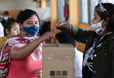 La población vuelve a votar después del fraude de 2019/Foto: Ricardo Montero