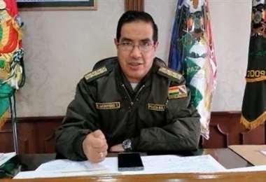 El comandante de la Policía Boliviana dijo que por el momento no hay bloqueos en el país
