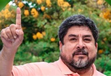 Édgar Zegarra, es el candidato que pide lo dejen seguir siendo candidato a diputado