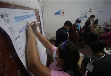 Bolivia escogió esta domingo a sus nuevas autoridades/Foto:Ricardo Montero