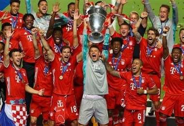 Bayern de Múnich, último campeón de la Champions. Foto: internet