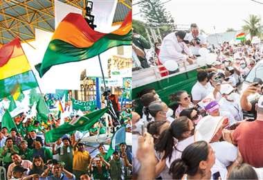 Ambas fuerzas políticas son referentes en la zona oriental del país