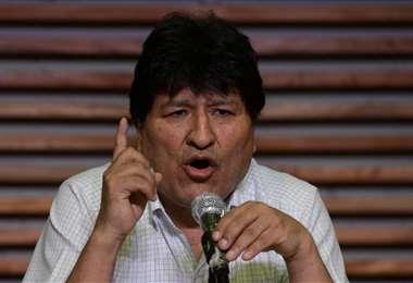 El expresidente en Argentina I AFP.