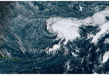 Formación de la nueva tormenta. Foto Internet