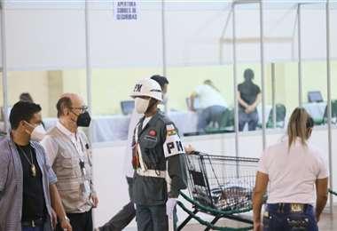 La Tribunal Electoral dijo que reforzó el control de las actas/Foto: Jorge Ibañez