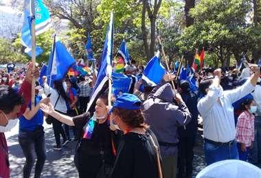 Masistas festejan en Tarija