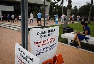 Se inició la votación anticipada en Florida. Foto AFP