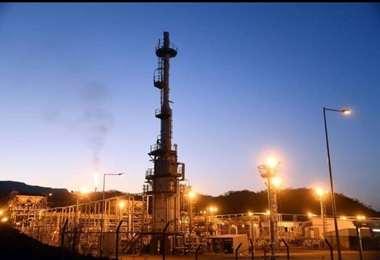 La producción de gas natural vuelve a la normalidad (Foto: YPFB)