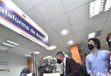 Alejandro Entrambasaguas en la Fiscalía (Foto: APG Noticias)