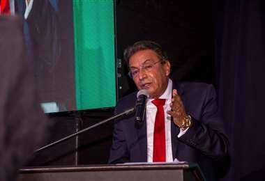 Rolando Kempff, presidente de la Cámara Nacional de Comercio (CNC)