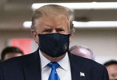 Una foto del 11 de julio de Trump. AFP