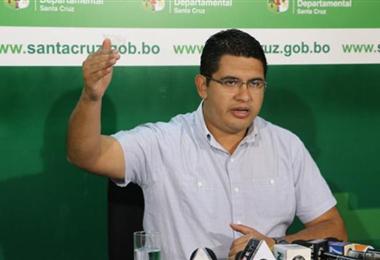 Vladimir Peña, secretario departamental de Demócratas. Foto. Internet