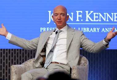 Bezos lleva tres años consecutivos en la cima de la lista de fortunas