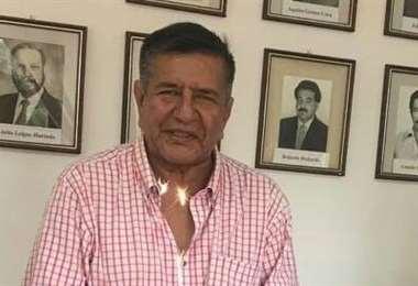 Carlos Sánchez, presidente de Real Santa Cruz. Foto: internet