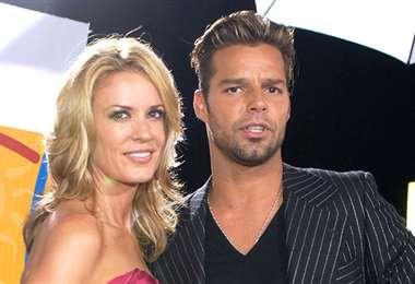 Rebecca de Alba y Ricky Martin fueron novios y actualmente son buenos amigos