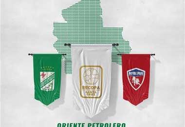 Este lunes empezó la promoción del partido entre Oriente y Royal Pari.