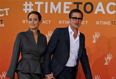 Angelina Jolie y Brad Pitt cuando formaban una de las parejas más famosas de Hollywood