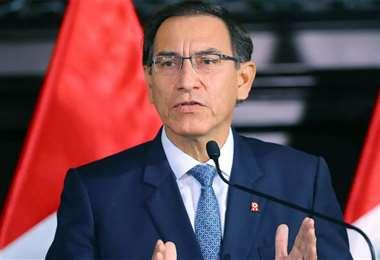 El presidente de Perú, Martín Vizcarra, es investigado.
