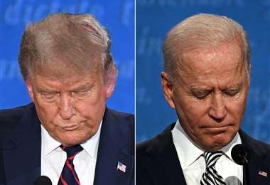 Joe Biden y Donald Trump/Foto: AFP