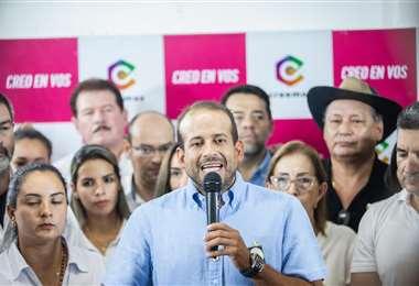 Luis Fernando Camacho, líder de Creemos