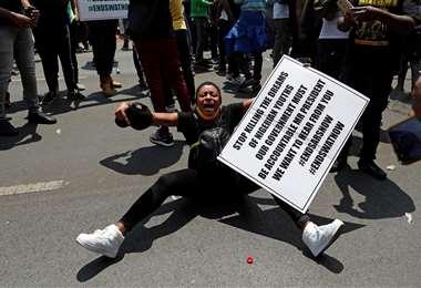 Protestas en Nigeria/Foto: AFP