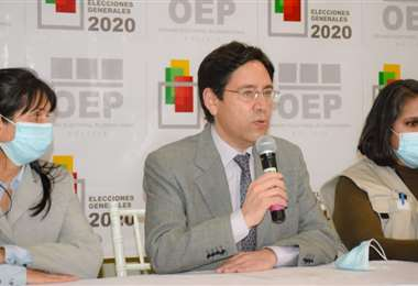 Conferencia de Salvador Romero (Foto: TSE)