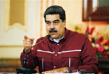 Nicolás Maduro es el presidente de Venezuela. Foto: AFP