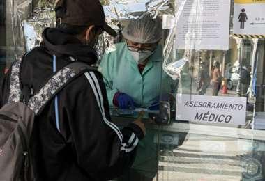 La pandemia continúa en Bolivia. Foto: APG
