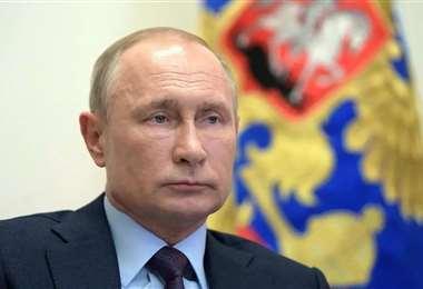 El mandatario ruso. Foto Internet
