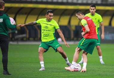 La selección podría volver a entrenar desde el lunes en La Paz. Foto: FBF