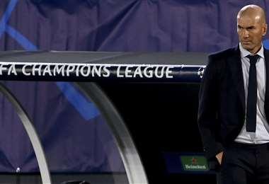 Zidane tiene que replantear cómo encarar el partido el sábado. Foto: AFP