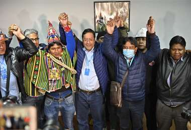 En Argentina esperan la posesión de Arce para restablecer relaciones. Foto APG
