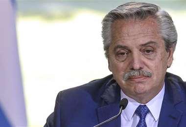 El mandatario argentino. Foto Internet