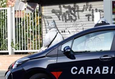 La policía busca como controlar a la mafia. Foto referencial