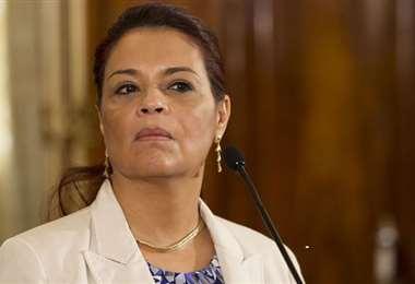 La exvicepresidenta de Guatemala. Foto Internet