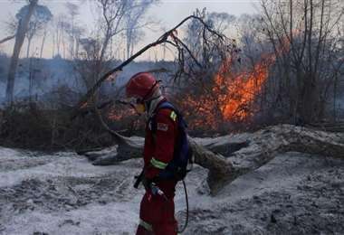 En Santa Cruz se reportaron 1.893 focos de calor. Foto referencial: Ipa Ibañez