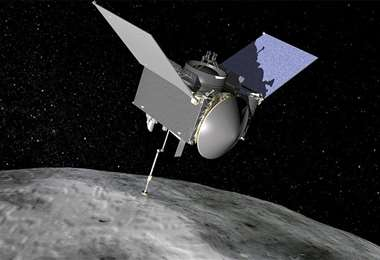 La sonda Osiris está perdiendo muestras. Foto Internet