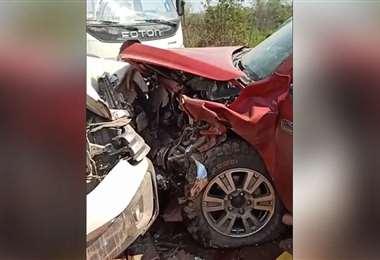 Accidente en Guarayos