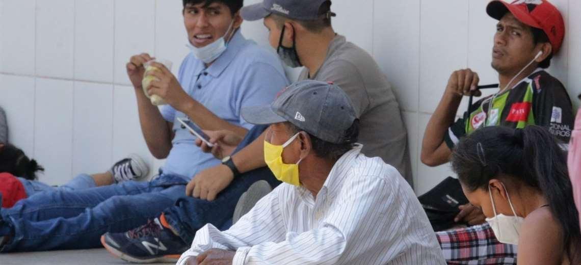 Piden a la población respetar los protocolos sanitarios. Fotos: Fuad Landívar