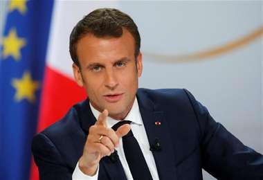 La presidencia de Francia califica de inaceptable las palabras vertidas por Erdogan